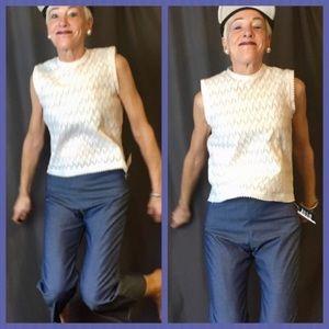 ATID Clothing 'Selena' Chambray Frayed Jeans-HOT🔥
